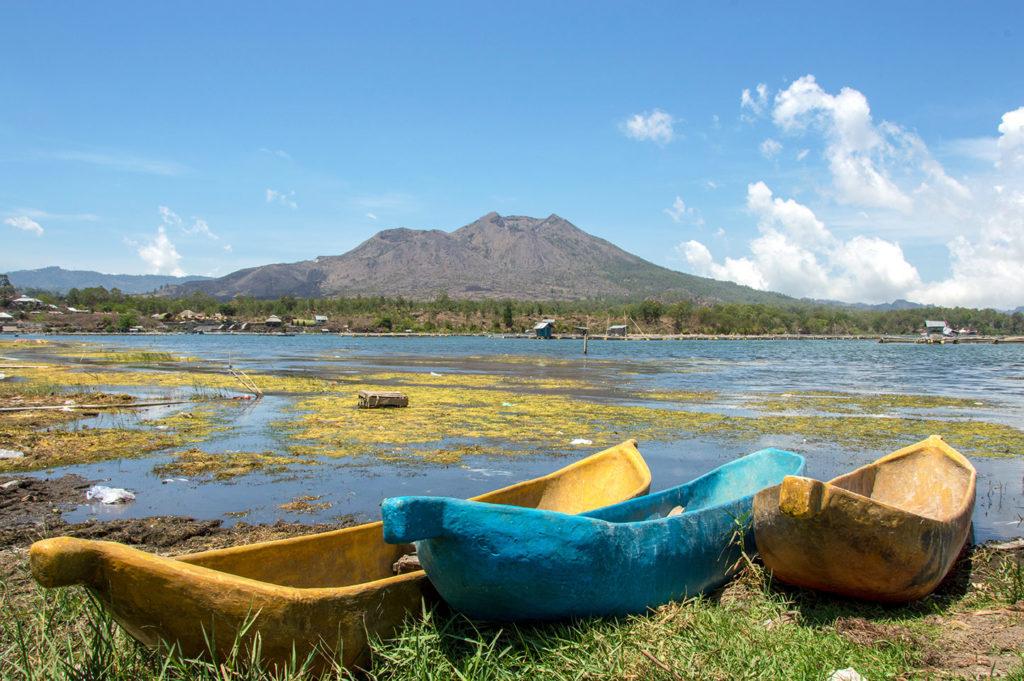 Mount Batur landscape Indonesia