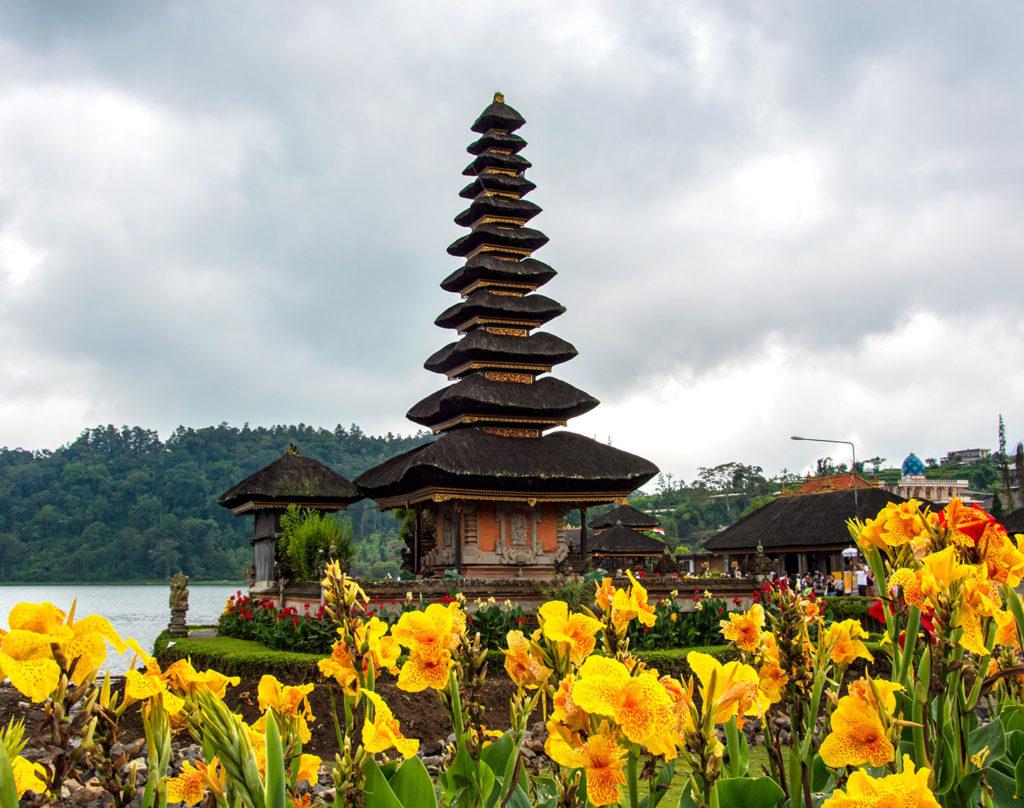 Pura Ulun Danu Batur Bali Indonesia