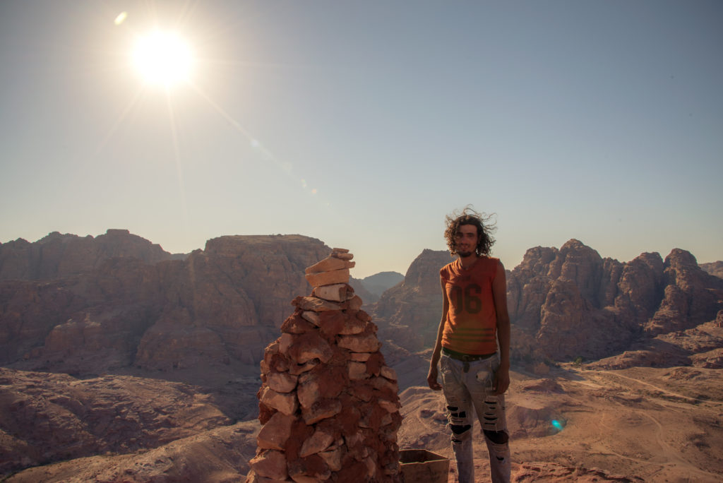 Nice guy with view in Petra