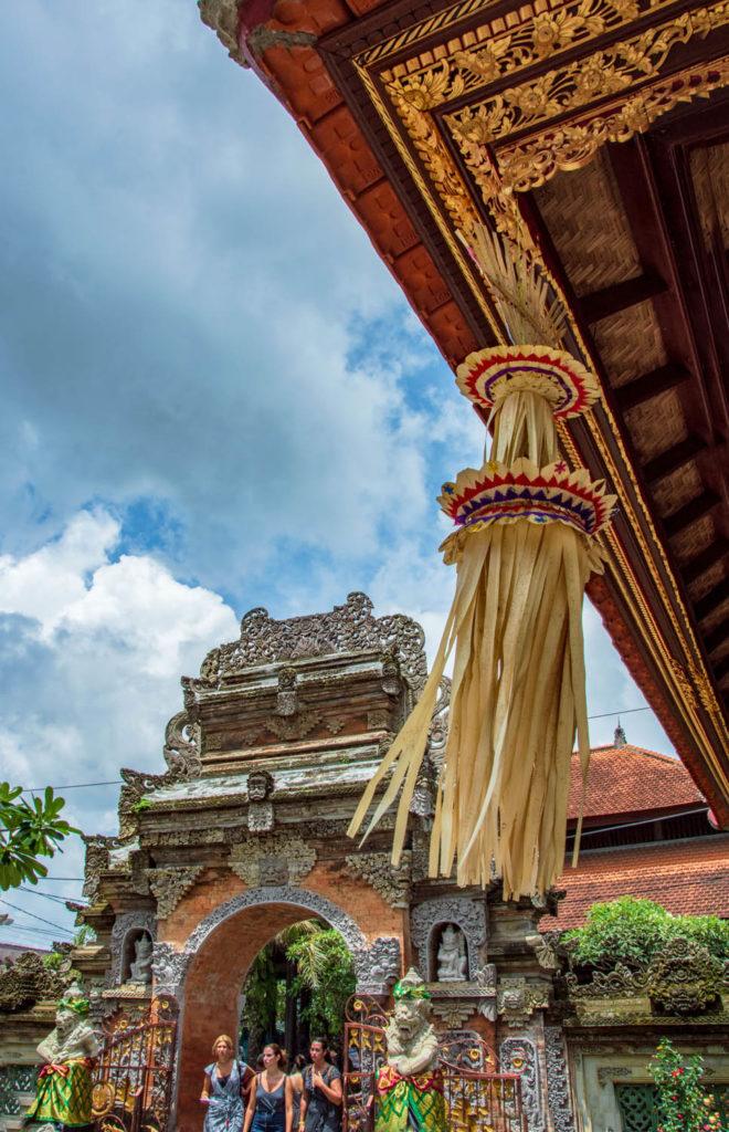 wind temple entrance indonesia java