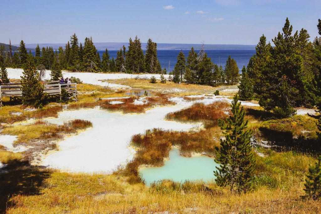 yellowstone park view
