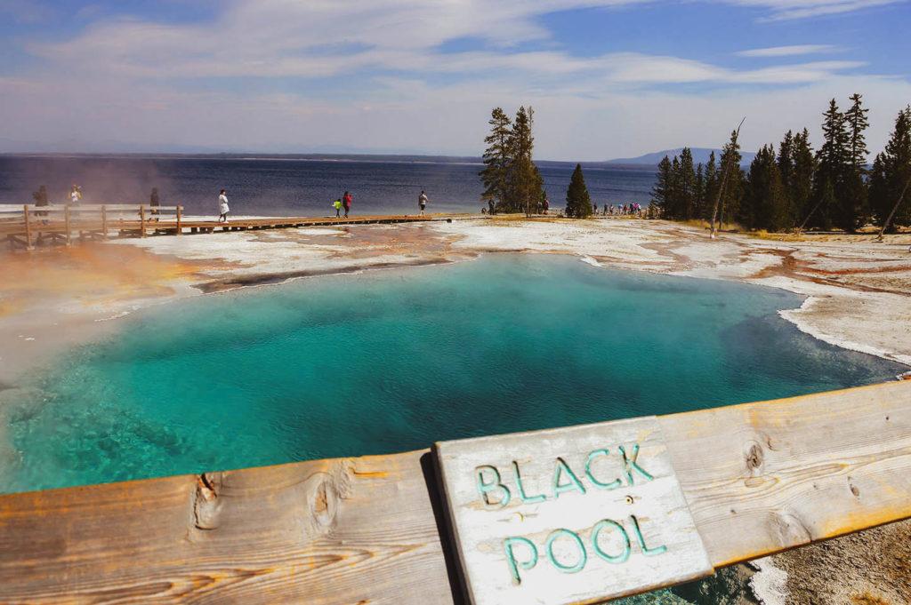 black pool yellowstone