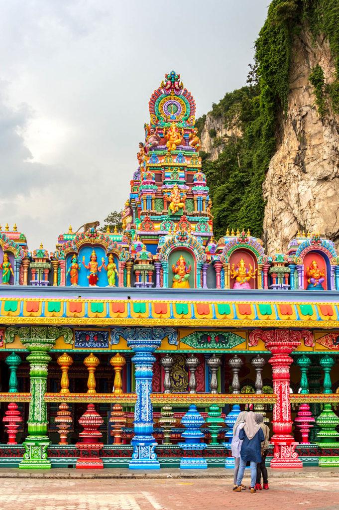 Batu Caves Malaysia temple girls