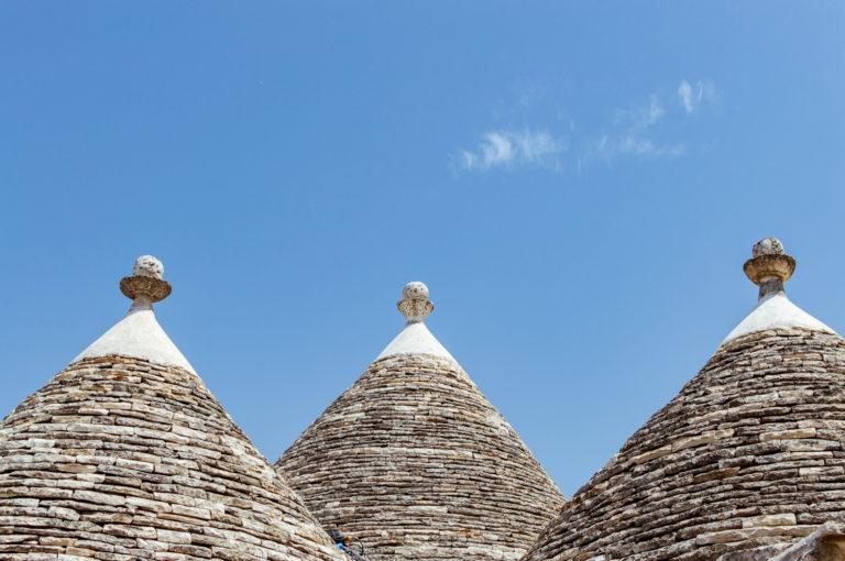 skyline of trulli