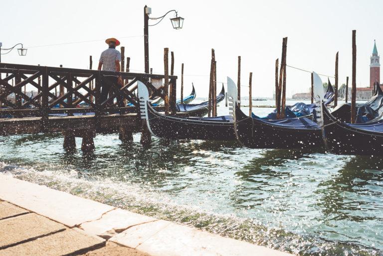 Venezia - Gondola and gondoliere