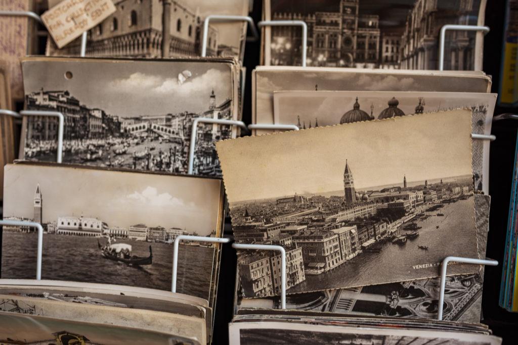 Venezia - Macro of a Venice Postcards