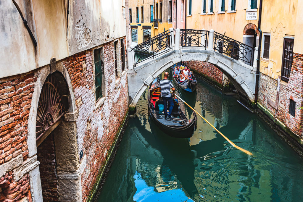 Venezia - carachteristic view of Venice